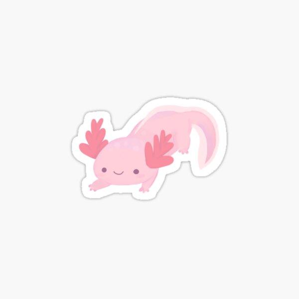 Pequeño Axolotl Pegatina
