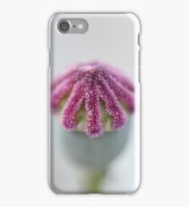 Macro Poppy iPhone Case/Skin