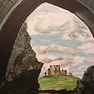 Rock Of Cashel  by Caroline  Hajjar Duggan