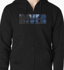 Hiver  Zipped Hoodie