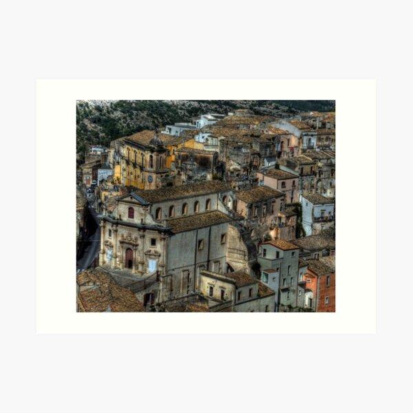 Old Sicily  Art Print