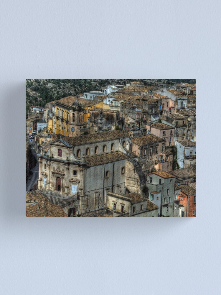Alternate view of Old Sicily  Canvas Print