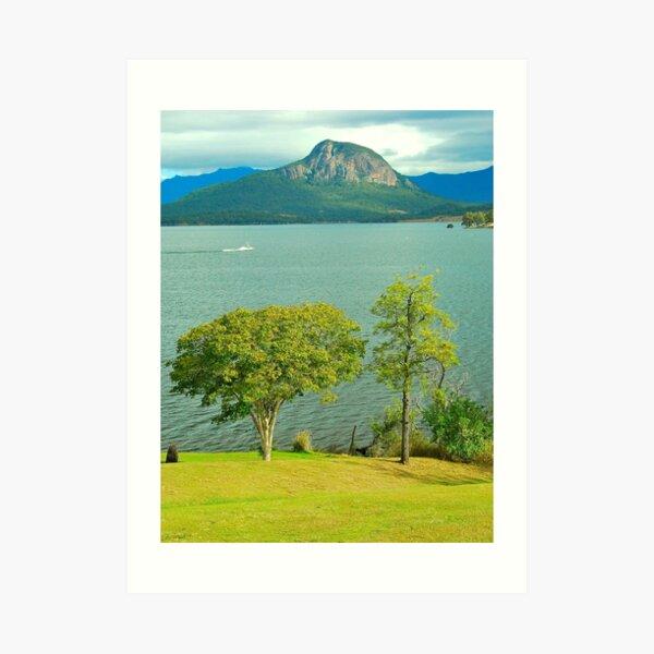 Lake Moogerah View Art Print