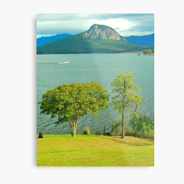 Lake Moogerah View Metal Print