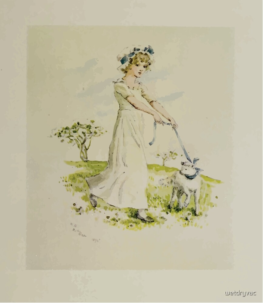 Kate Greenaway Collection 1905 0143 Mary Had a Little Lamb by wetdryvac