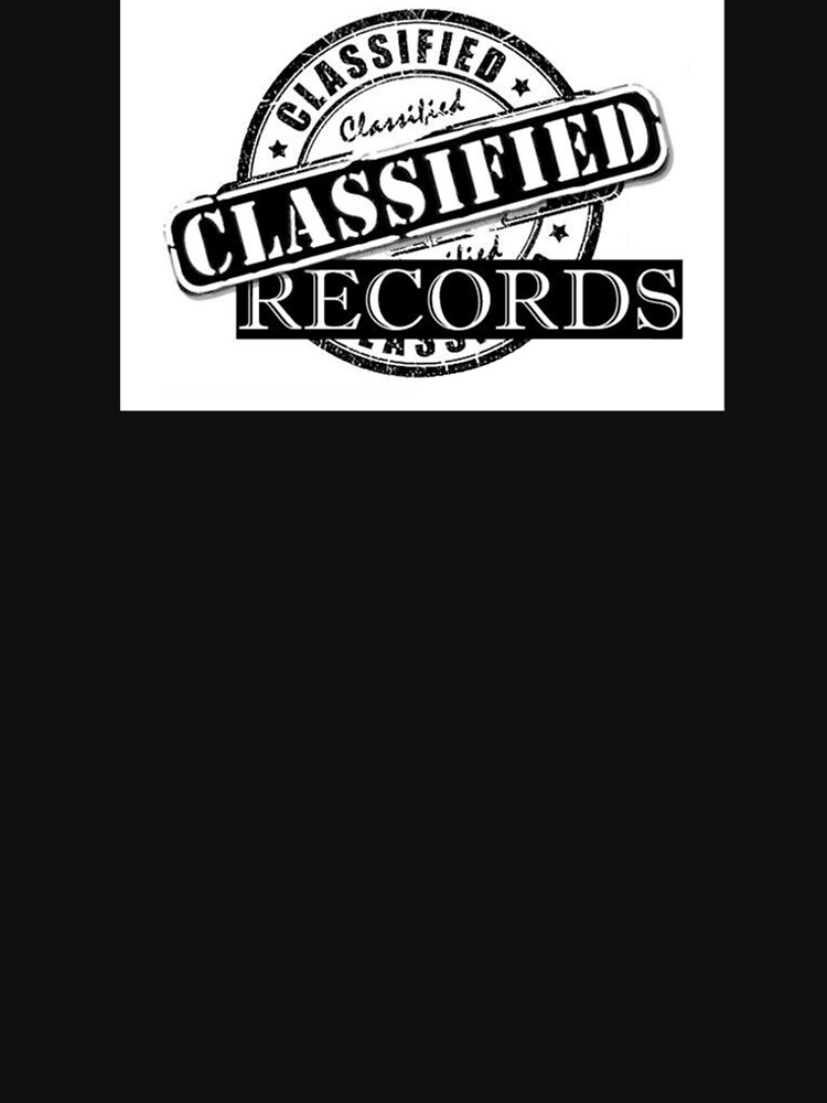 Classified Records Stamp Logo by Classified619