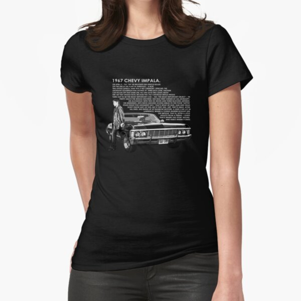 1967 Chevy Impala Fitted T-Shirt
