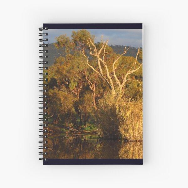 Flinders Ranges Winter Reflection Spiral Notebook