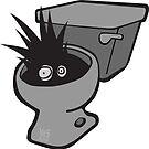 Toilet Terror by chrisvig