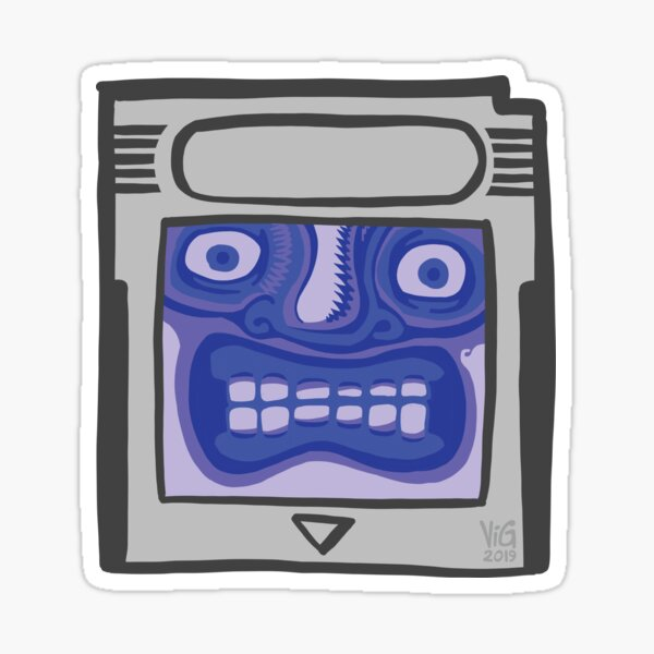Glenntendo Gameboy Sticker