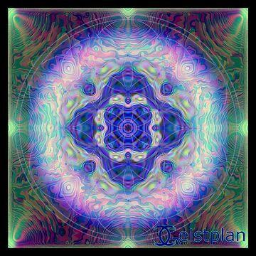 Mandala der Besinnung 2.0 von Geistplan