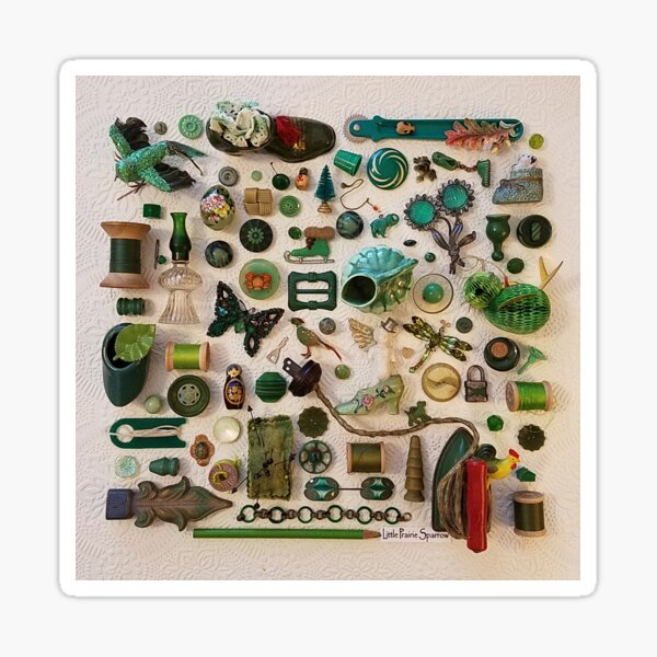 Green with Envy Sticker