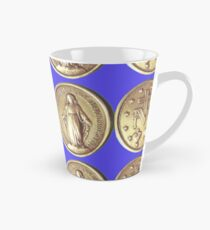 Our Virgin Mary Miraculous Medal Crowning Virgen Maria Prayer 101 Tall Mug