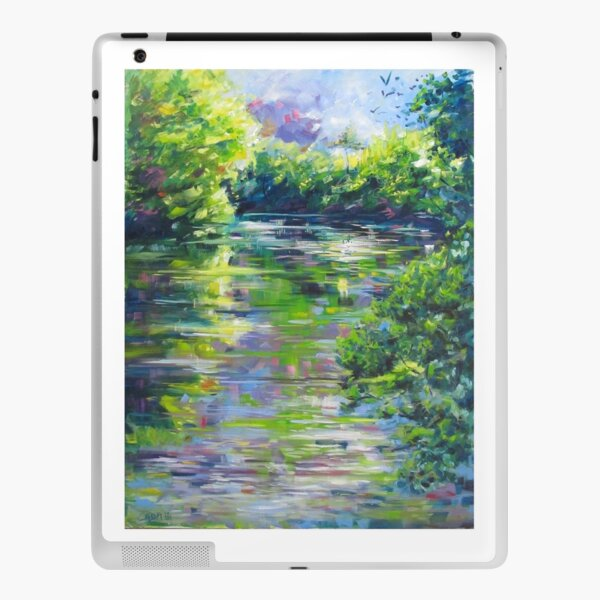 Reflet d eau 1 Skin adhésive iPad