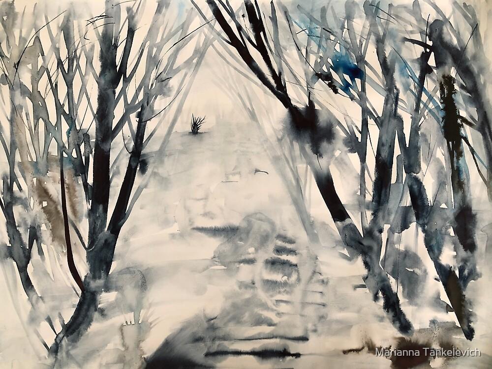 Winterbüsche von Marianna Tankelevich