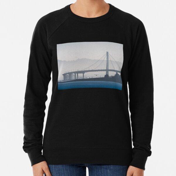 Oakland Bay Bridge, California Lightweight Sweatshirt