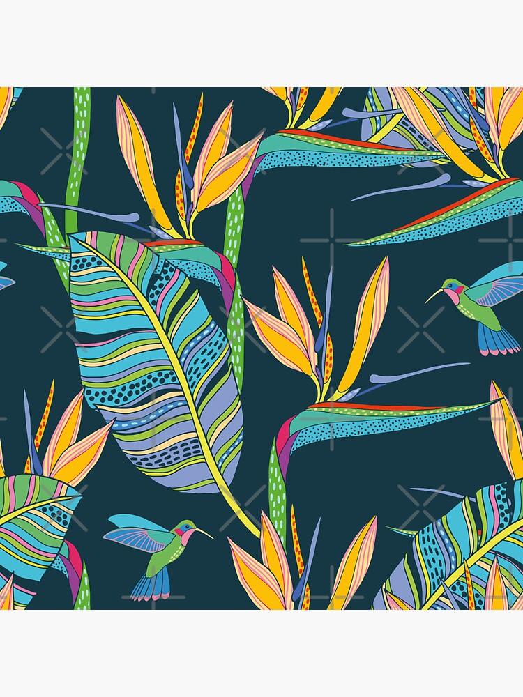 Bohemian Birds of Paradise by nadyanadya