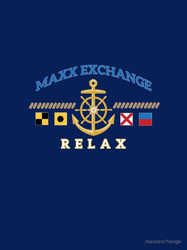 Nautical Flags, Helm, Anchor, Relax.  by maxxexchange