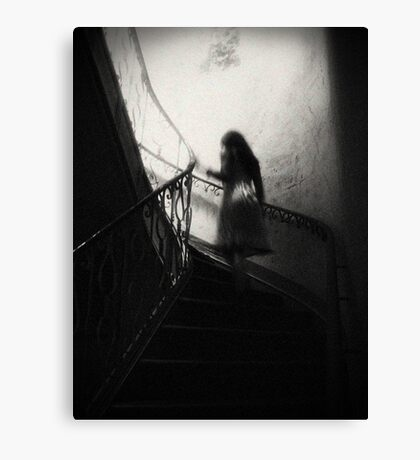 A Ghost Between Us Canvas Print