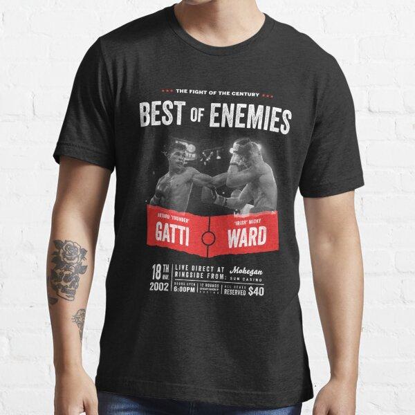 Ward V Gatti Boxing Fight Grey Premium Men/'s T-Shirt