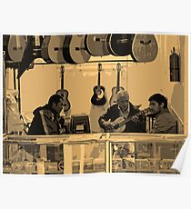 Music Shop, Quito, Ecuador Poster