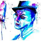 Sinatra-My Way Watercolor by Beau Singer