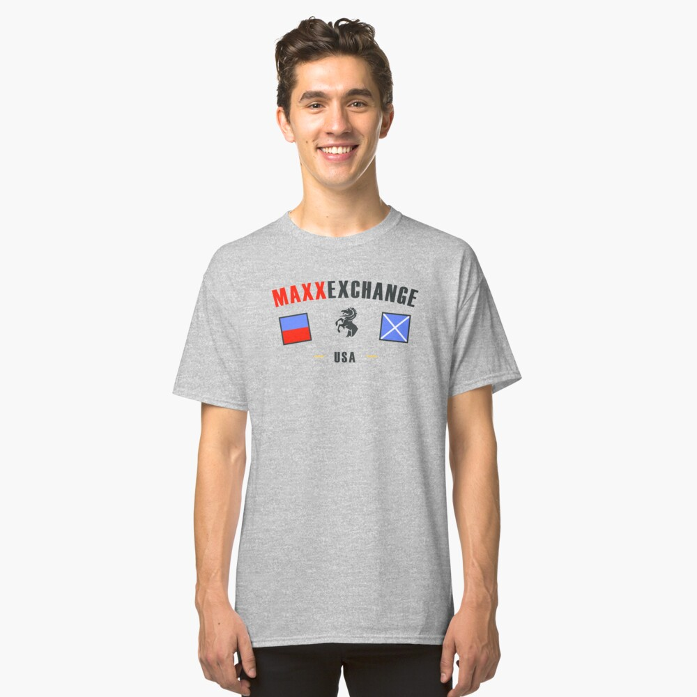 Nautical Flags, Maxx Exchange, USA Classic T-Shirt Front