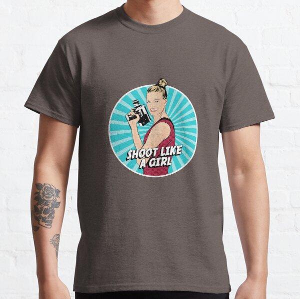 Shoot Like a Girl Filmmaker Classic T-Shirt