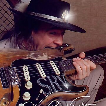 SRV-Stevie Ray Vaughan-Number one - Guitarra-Blues-Rock-legend o de carlosafmarques