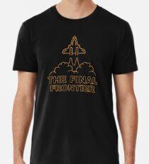 The final Frontier Camiseta premium para hombre