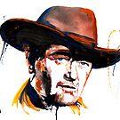 The Duke Watercolor by Beau Singer