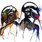 Phoenix-Watercolor by Beau Singer