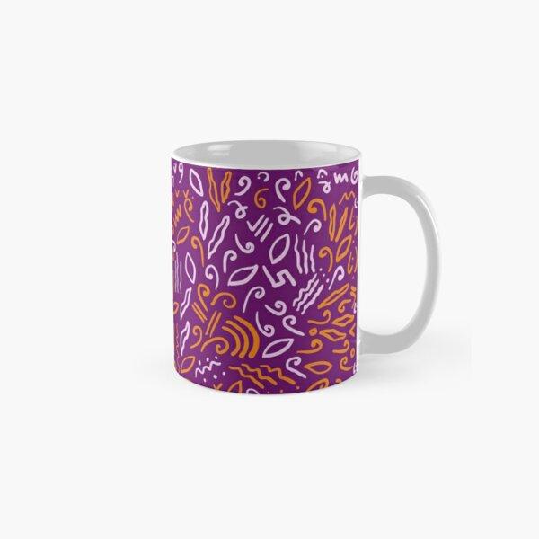Tribal Doodle Classic Mug