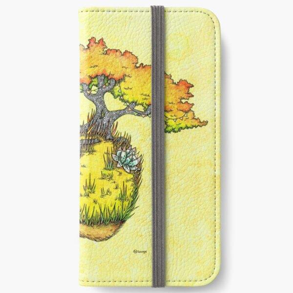 Hedgehog Garden iPhone Wallet