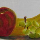 Fruit Trio by Estelle O'Brien