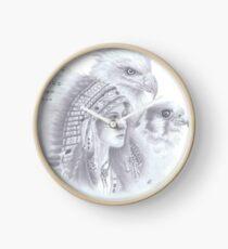 Amerikanischer Ureinwohner Uhr