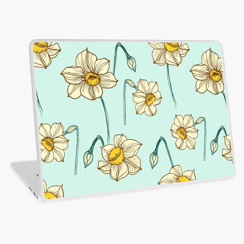 Spring Narcissus Laptop Skin