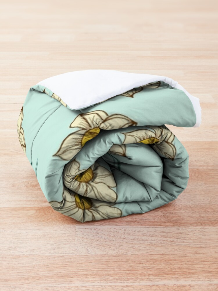 Alternate view of Spring Narcissus Comforter