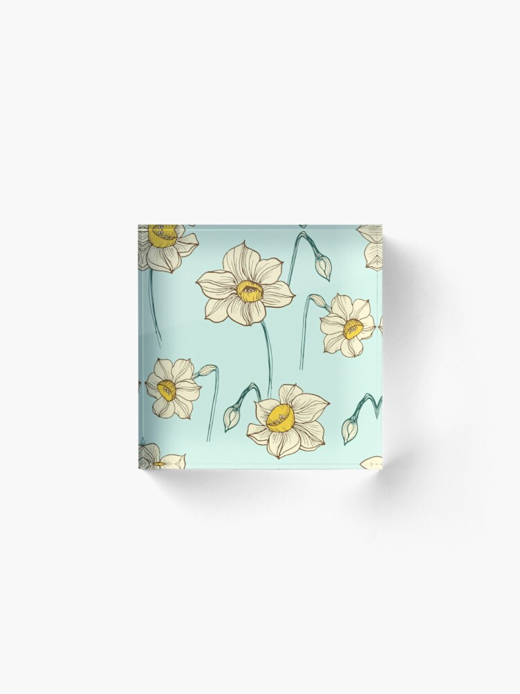 Alternate view of Spring Narcissus Acrylic Block