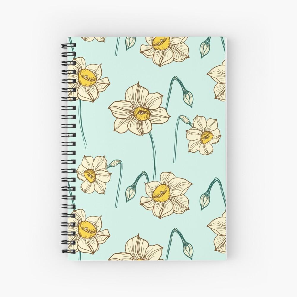 Spring Narcissus Spiral Notebook