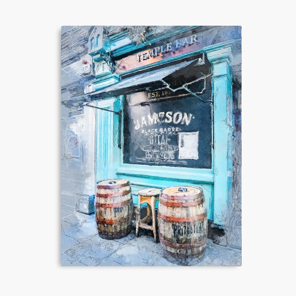 Dublin art #dublin Canvas Print