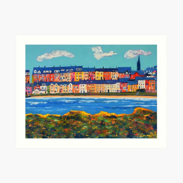 Three Clouds Over Portrush (County Antrim, Northern Ireland) Art Print