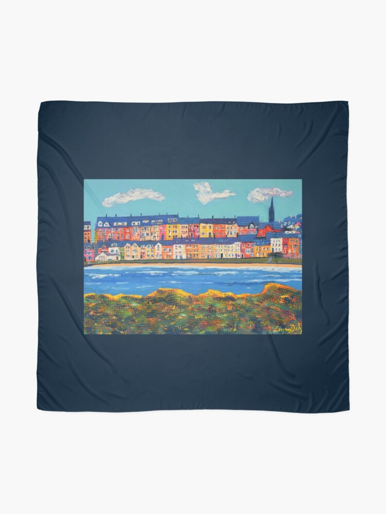 Alternate view of Three Clouds Over Portrush (County Antrim, Northern Ireland) Scarf