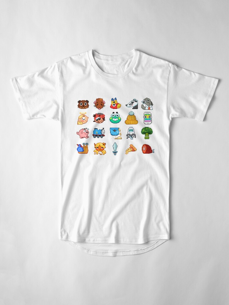 Alternate view of Doodle Date Pixel Party  Long T-Shirt