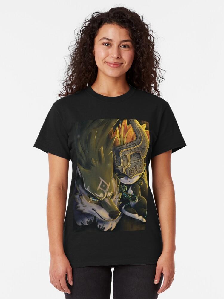 Vista alternativa de Camiseta clásica Siesta Crepúsculo