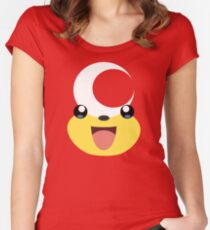 Pokemon - Teddiursa / Himeguma Women's Fitted Scoop T-Shirt
