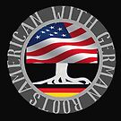American with German Roots logo by edsimoneit
