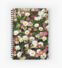 Candy Coloured Daisies Spiral Notebook