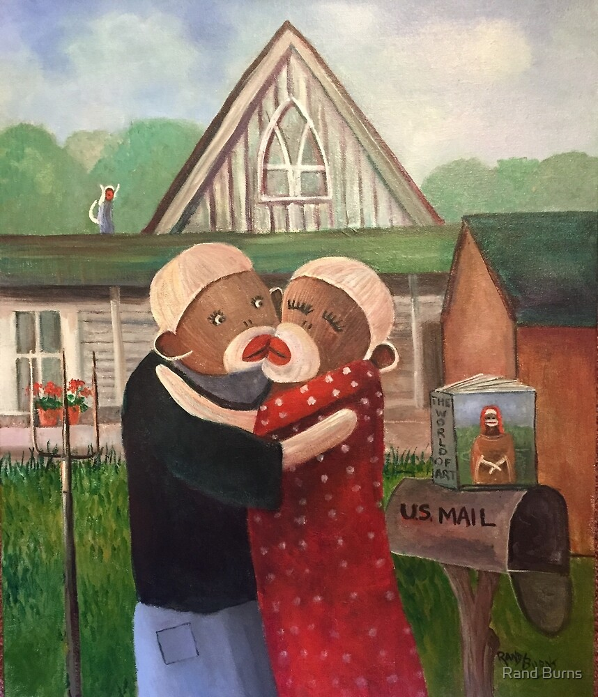 American Gothic, The Monkey Lisa and The Holler by Randy Burns