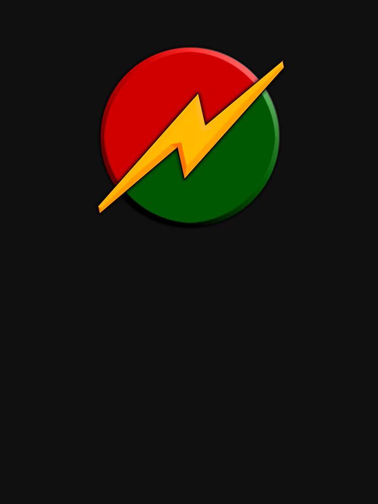 Reggae Rastaman symbol by kennyn